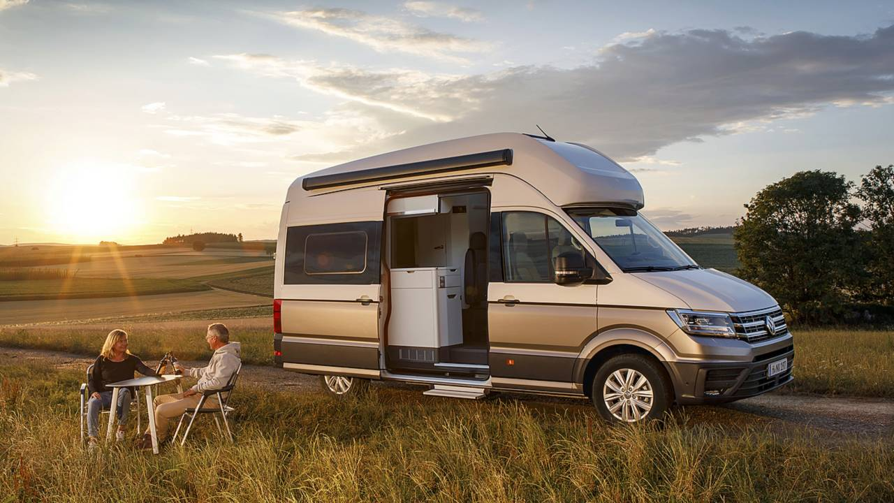vw grand california is a crafty camper for the whole family. Black Bedroom Furniture Sets. Home Design Ideas
