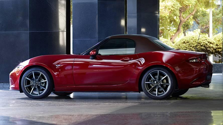 Mazda MX-5 стала мощнее и безопасней