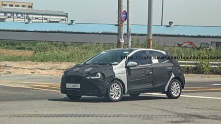 Flagra! Estas são as primeiras fotos do novo Hyundai HB20