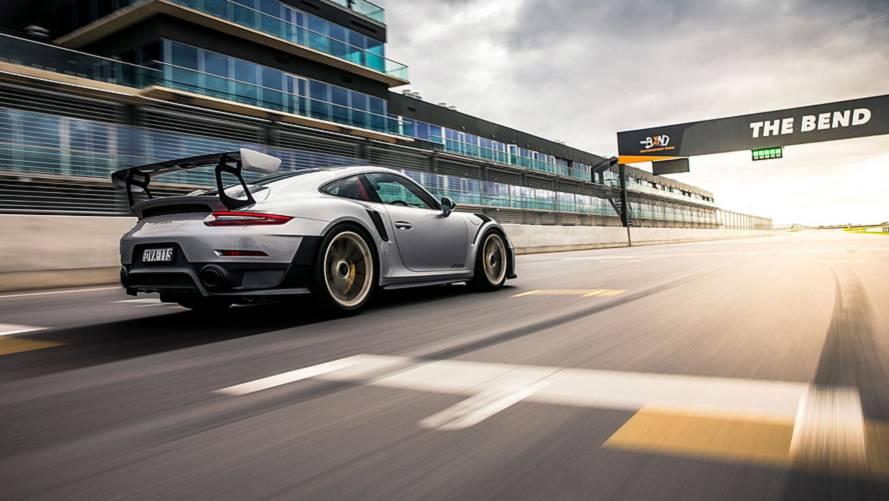 Porsche 911 GT2 RS стал рекордсменом трассы в Австралии