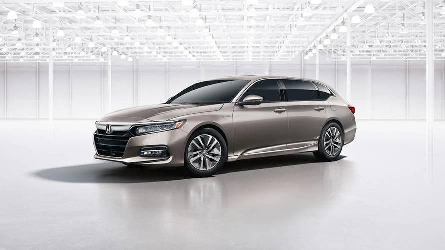 2018 Honda Accord Gets Coupe, Wagon Virtual Makeovers