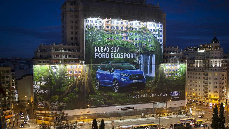 Ford Now Holds Record For The Biggest Billboard Ever