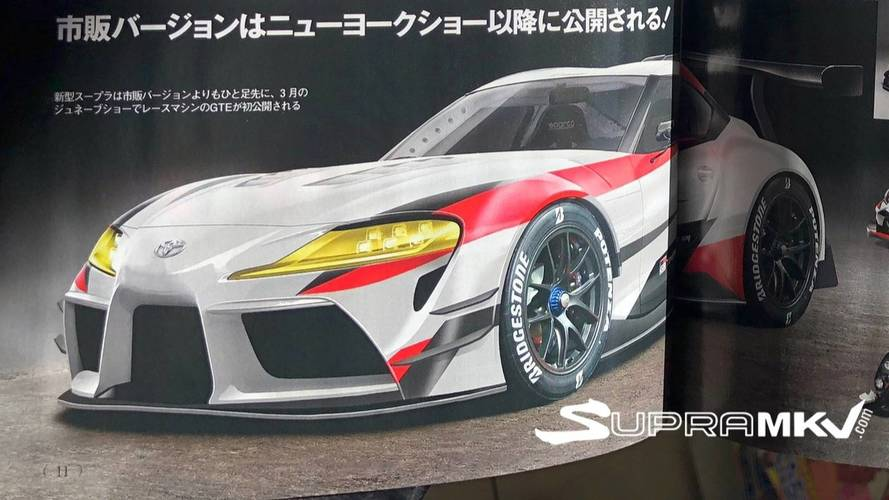 Geneva-Bound Toyota Supra Might Not Be Road-Going Production Car