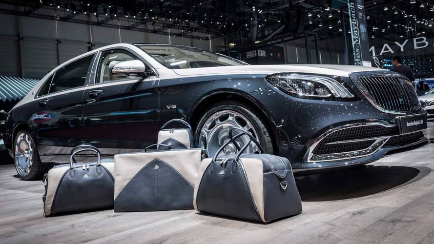 Be That Guy, Buy The Matching Luggage Set For Your Maybach
