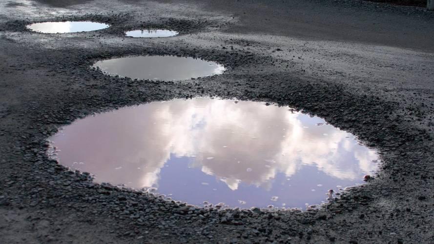 Le mauvais état des routes, un problème