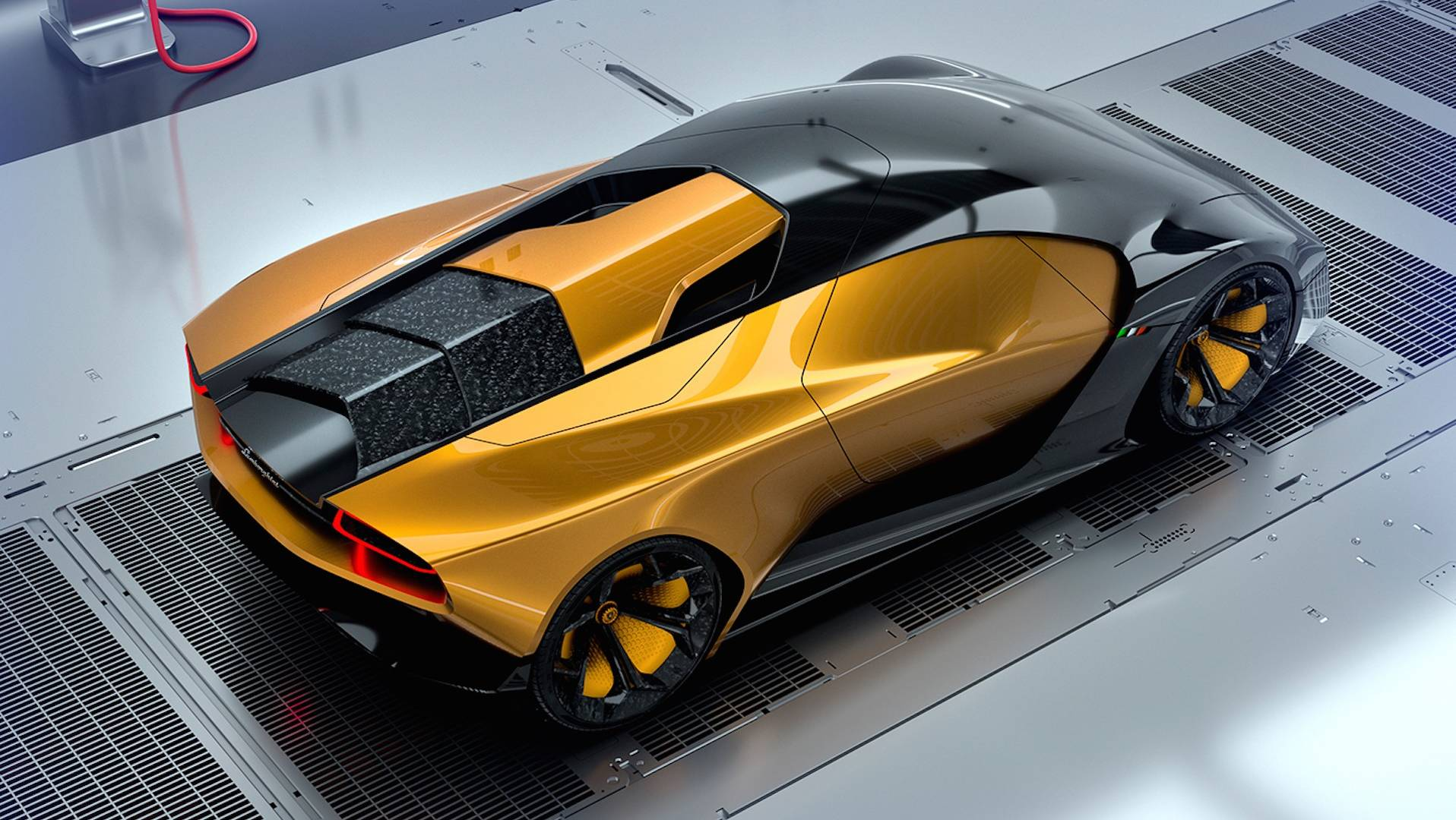 Lamborghini Rendering Imagines The Gold Standard Of Concept Cars on
