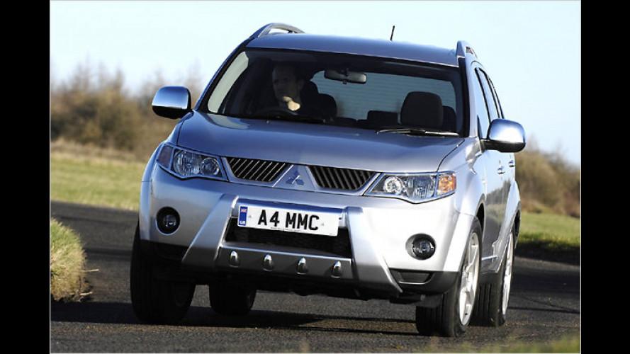Mitsubishi-Doppelkupplungsgetriebe auch für den Outlander
