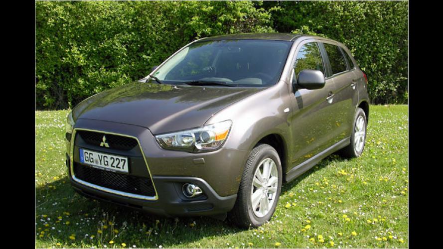 Kleiner Bruder: Der neue Mitsubishi ASX im Test