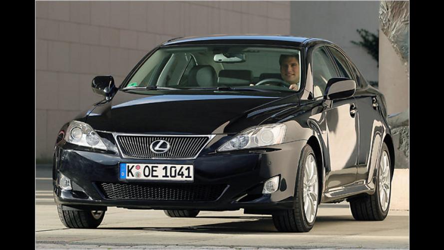 Lexus IS 220d Limited: Limitierter Luxus für Genießer