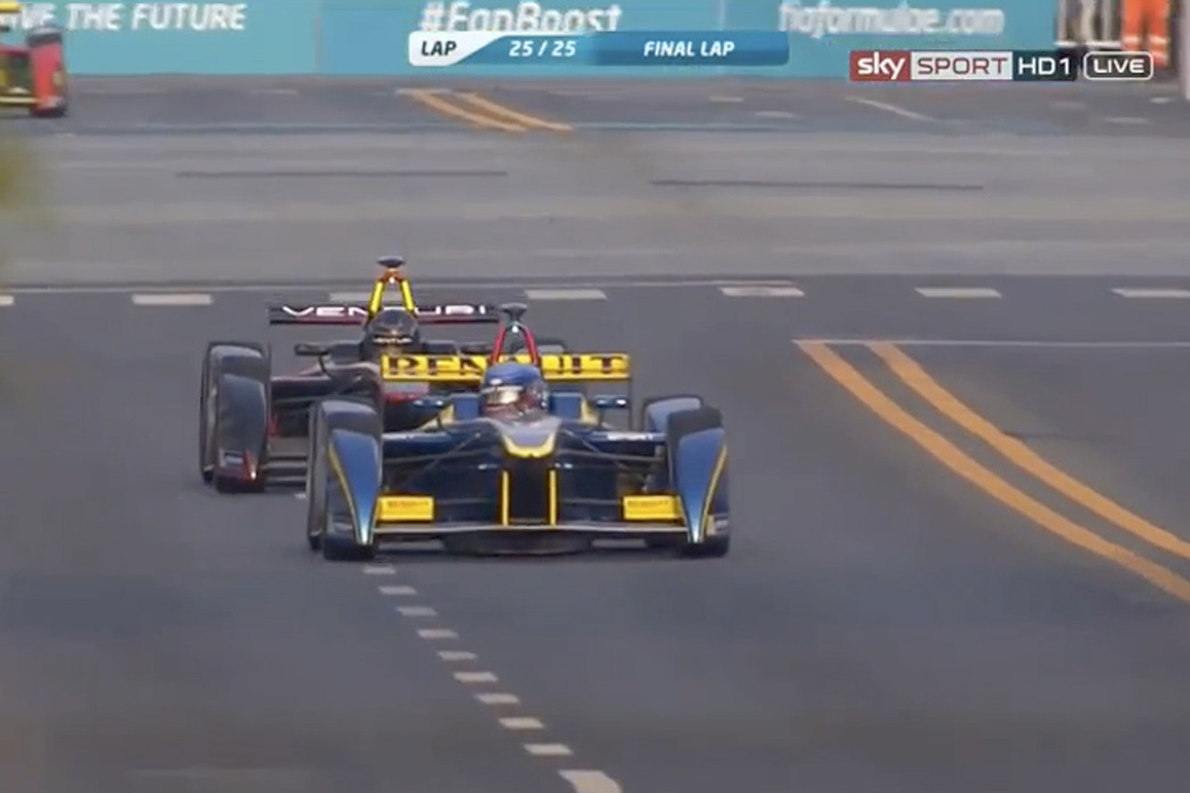 Final Lap Crash Headlines Exciting Formula E Opener [w/Video]
