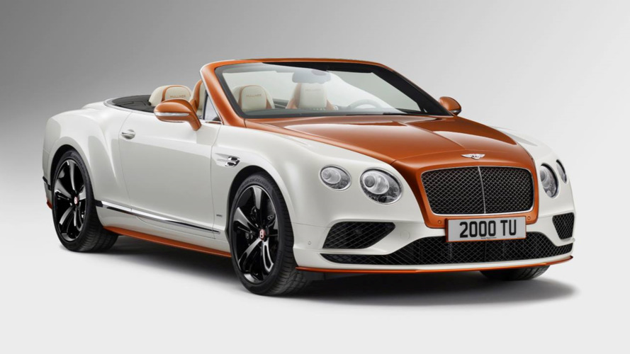 One-off Bentley Continenal GT has orange carbon fiber
