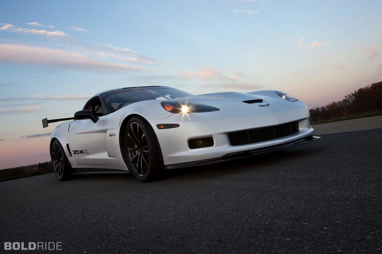 Chevrolet Corvette Z06X Track Car Concept