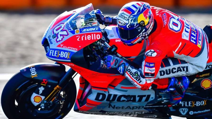 Dovizioso le da la razón a Márquez y se lleva la pole de MotoGP en Brno