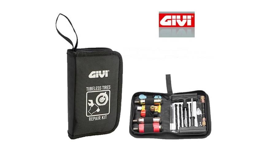 La solución de GIVI para los pinchazos en moto