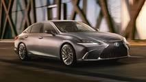 2019 Lexus ES teasers