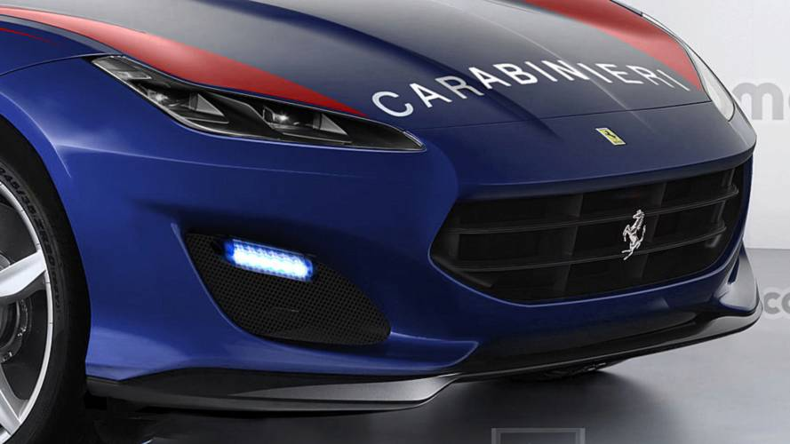 Ferrari SUV - Viatura