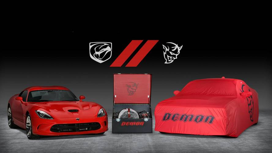 Final Dodge Demon, Viper Sold For $1 Million