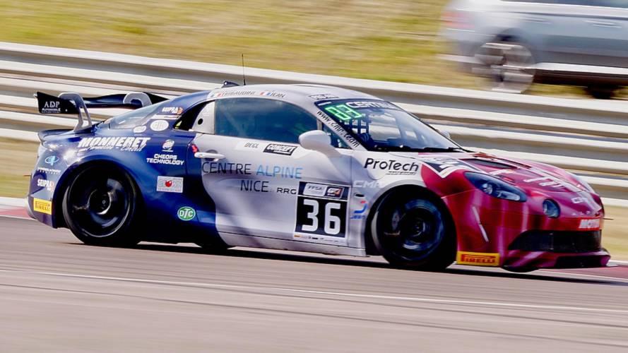 Alpine A110 GT4, quella di Garage Italia