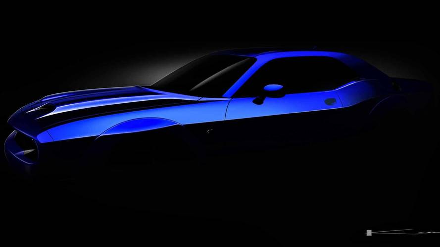 Dodge Challenger SRT Hellcat 2019 Teaser