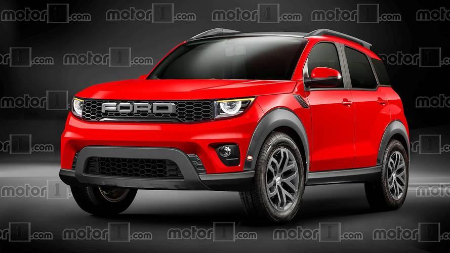 Rendering Ford Bronco 2020