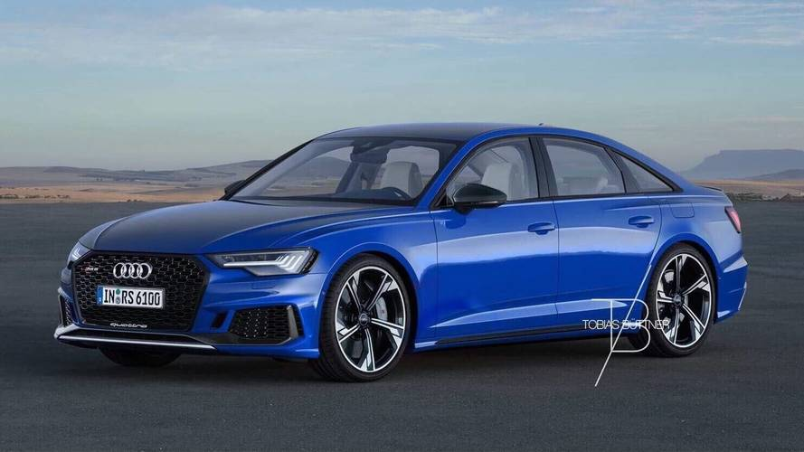 Audi RS6 Sedan Rendered To Fuel Rumors About The Model's Return