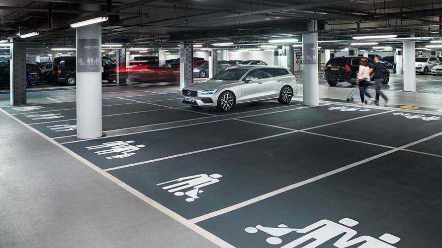 Volvo messes with Westfield London parking spaces to promote V60