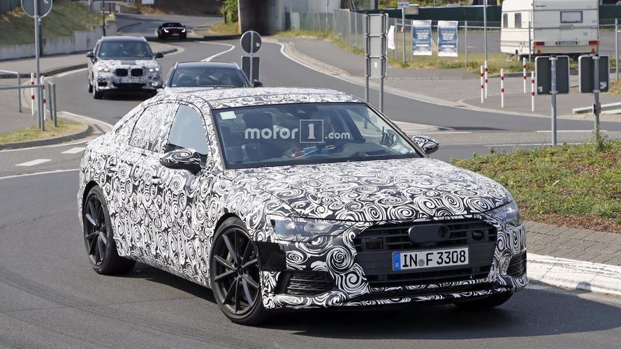 Lefotózták a Nürburgringen gyanútlanul köröző Audi S6 prototípust