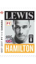 Le timbre Lewis Hamilton