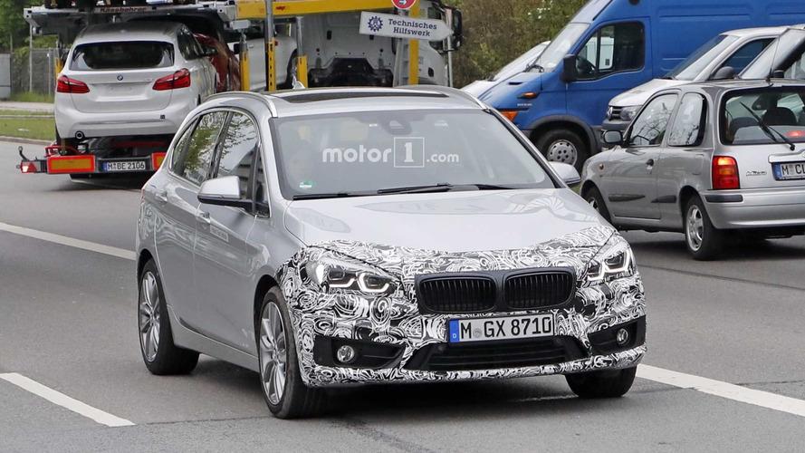 BMW 2 Serisi Active Tourer yeni farlarıyla yakalandı
