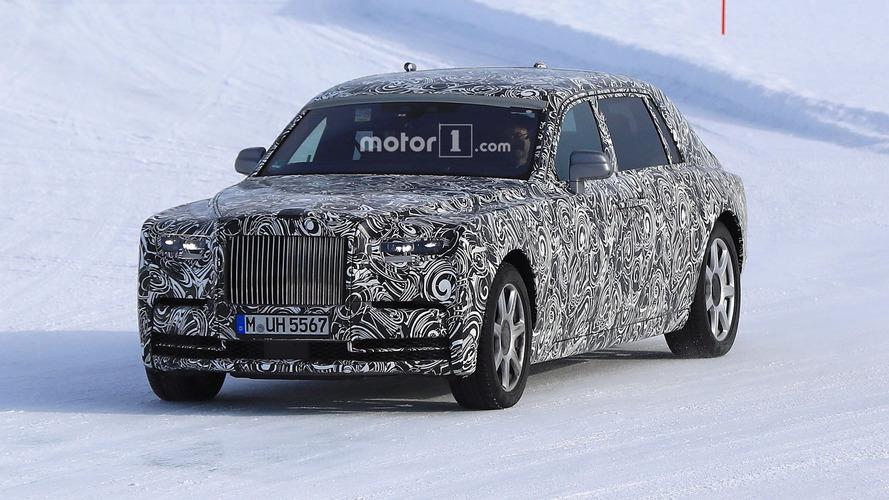 2018 Rolls-Royce Phantom à empattement rallongé Photos espion