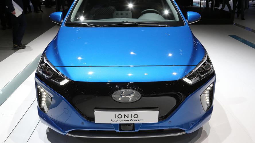 Hyundai Ioniq otonom konsepti Cenevre'ye geldi - hem de kendi kendine