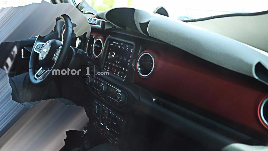 Jeep Wrangler 2018 - Flagra Interior