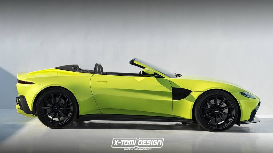 Design - Aston Martin Vantage Volante