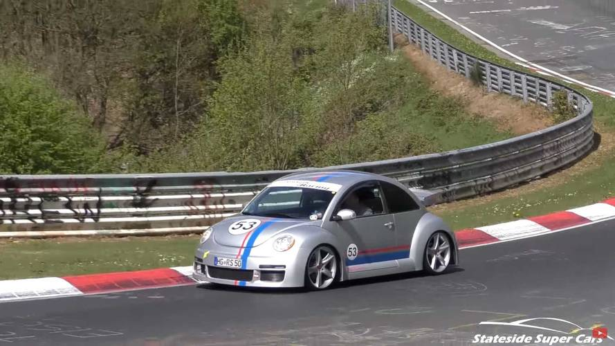 Watch This Super Rare VW Beetle RSi Tackle The Nürburgring