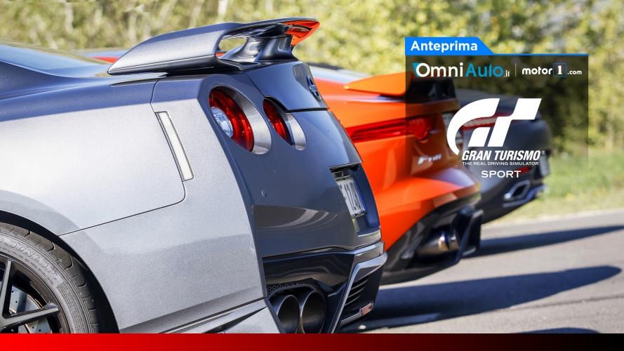 Gran Turismo Sport è arrivato e noi lo trasformiamo in realtà...