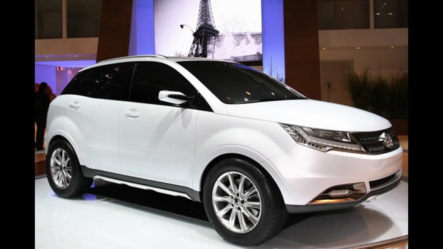 SsangYong anuncia 4 novos modelos até 2013 no Brasil - Crossover C200 chega este ano