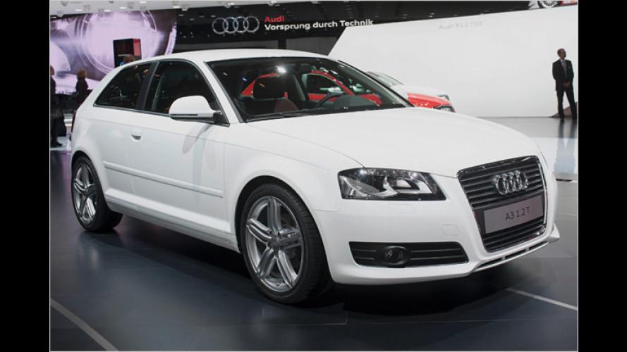Kleiner und sparsamer: Neuer Basismotor für den Audi A3