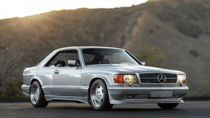 Mercedes 560 SEC 6.0 AMG Wide Body hitting the auction block