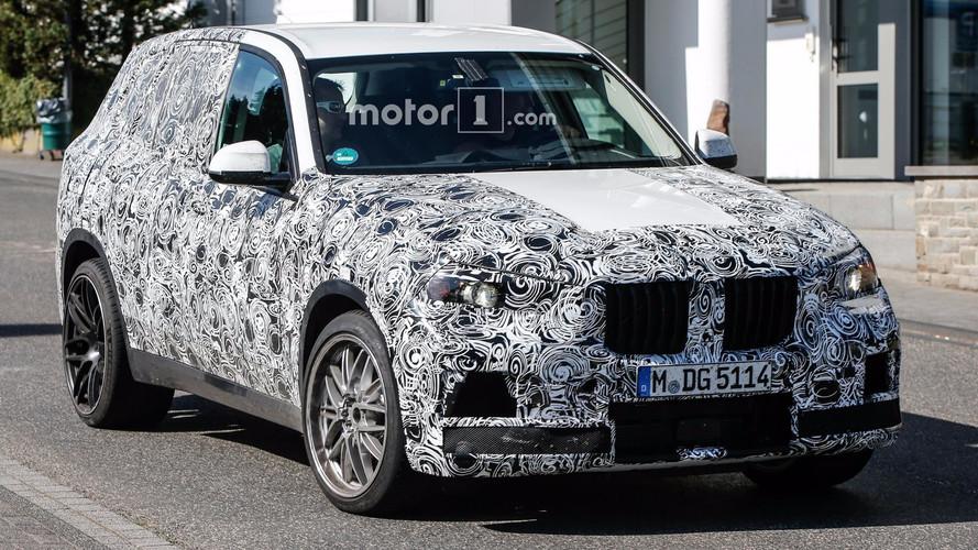 Primeras fotos espía del BMW X5 M 2018