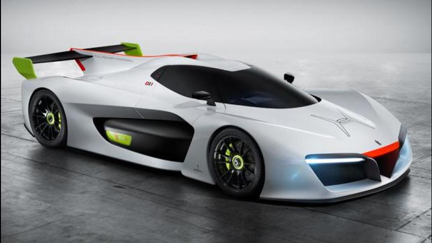 Pininfarina H2 Speed è la supercar a idrogeno [VIDEO]