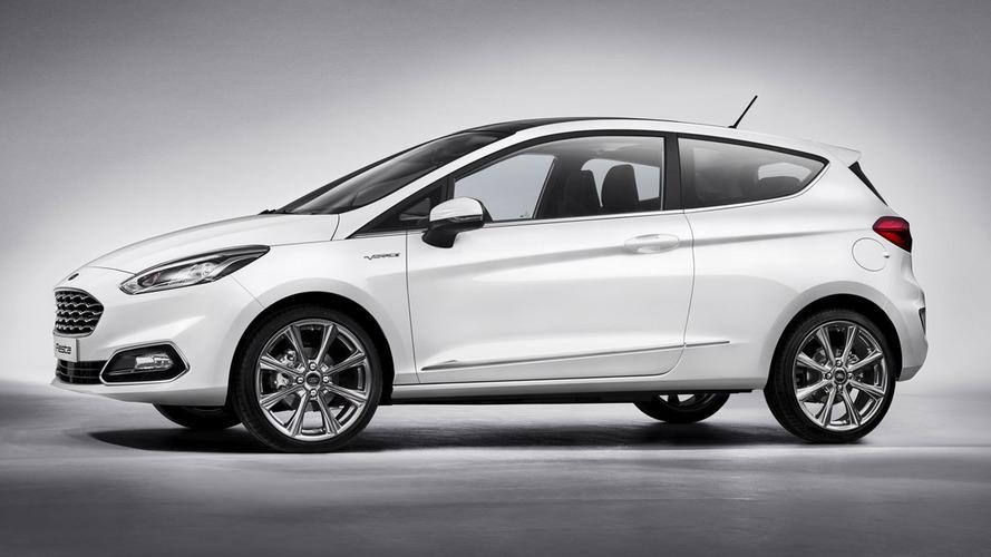 2017 Ford Fiesta'nın ilk fotoğrafı sızdı