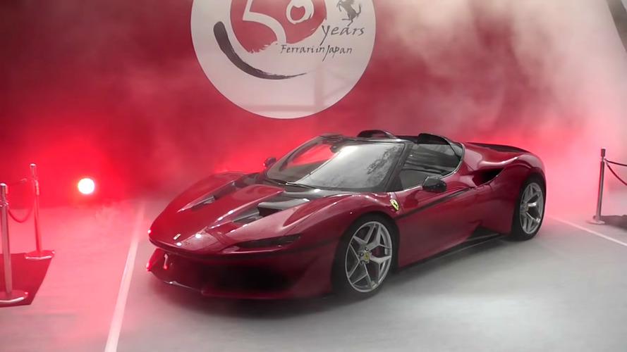 L'exclusive Ferrari J50 se montre en vidéo !