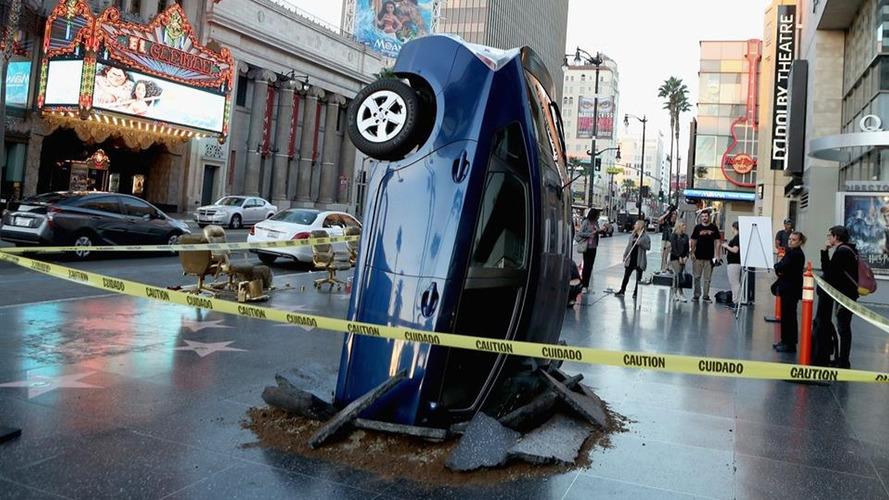 The Grand Tour Toyota Prius crash