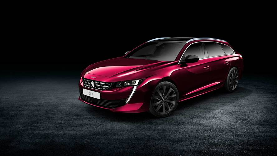 Peugeot 508 SW Teased On Twitter Before Official Debut