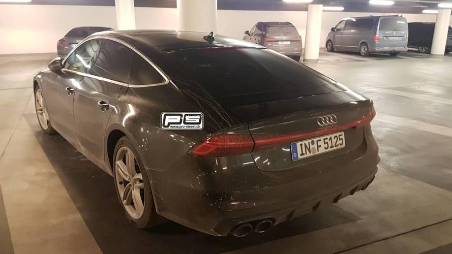 La future Audi S7 Sportback capturée sans le moindre camouflage