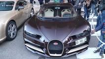 Brown Bugatti Chiron