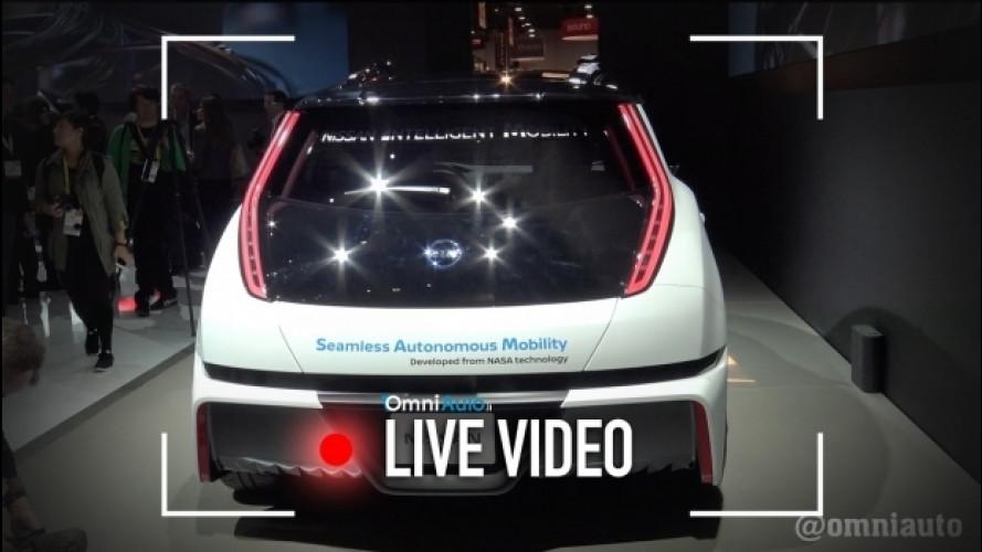 CES 2017, oltre alla tecnologia Nissan c'è di più [VIDEO]