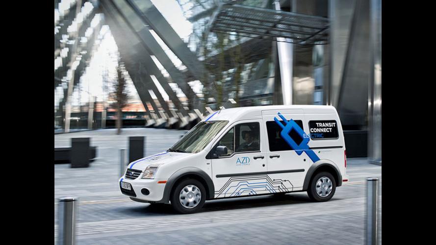 Il furgone elettrico Ford sbarca in Europa