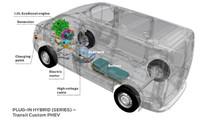 İlk Ford Transit Custom PHEV