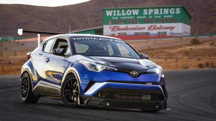 C-HR preparado anda mais que Civic Type R, diz Toyota